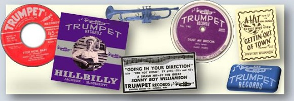 blues trumpet records